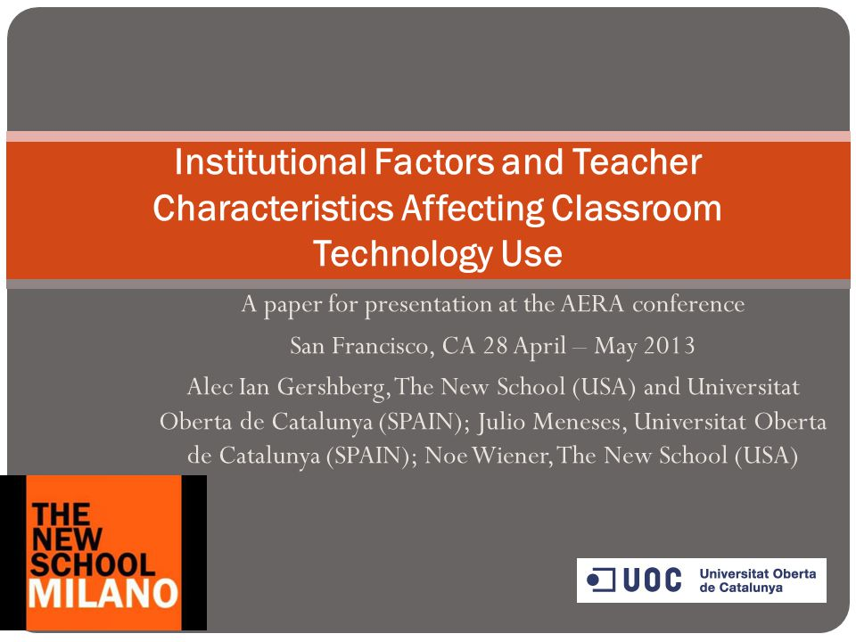 A paper for presentation at the AERA conference San Francisco, CA 28 April – May 2013 Alec Ian Gershberg, The New School (USA) and Universitat Oberta