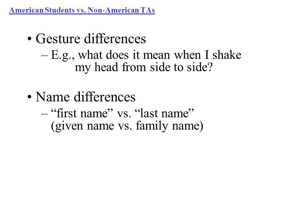 American Students vs.