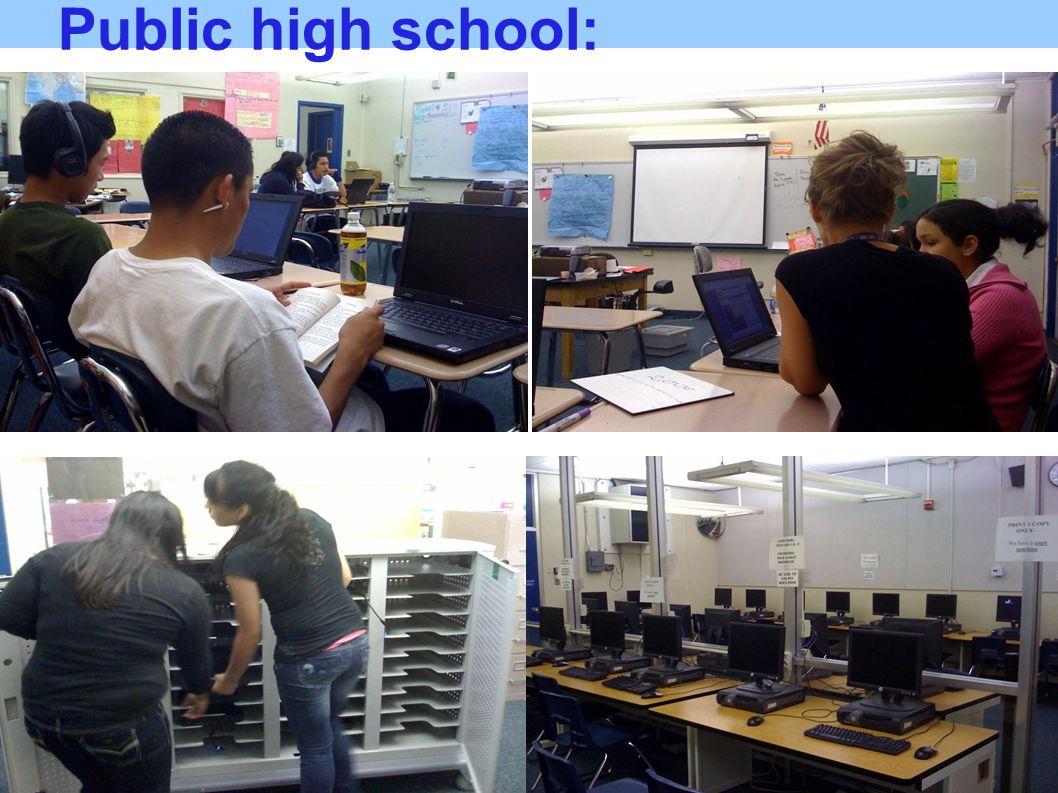 Public high school: