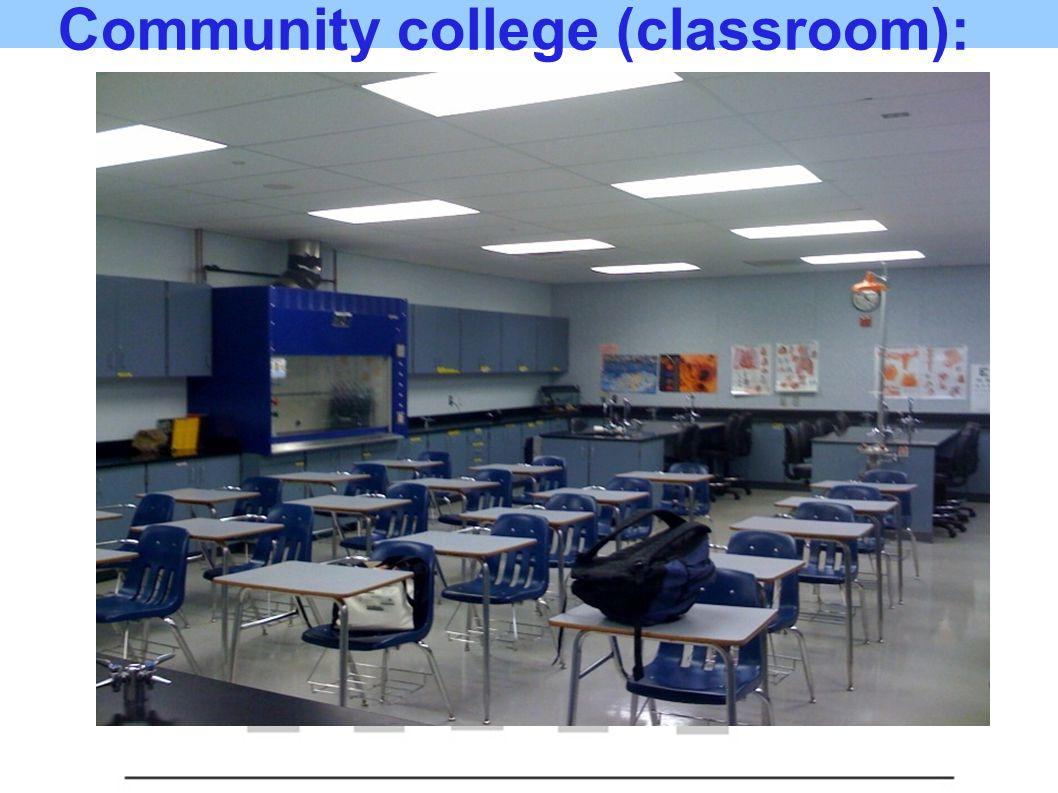 Community college (classroom):