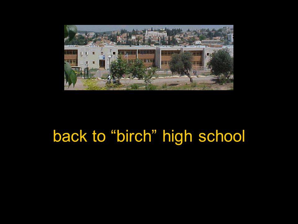 back to birch high school