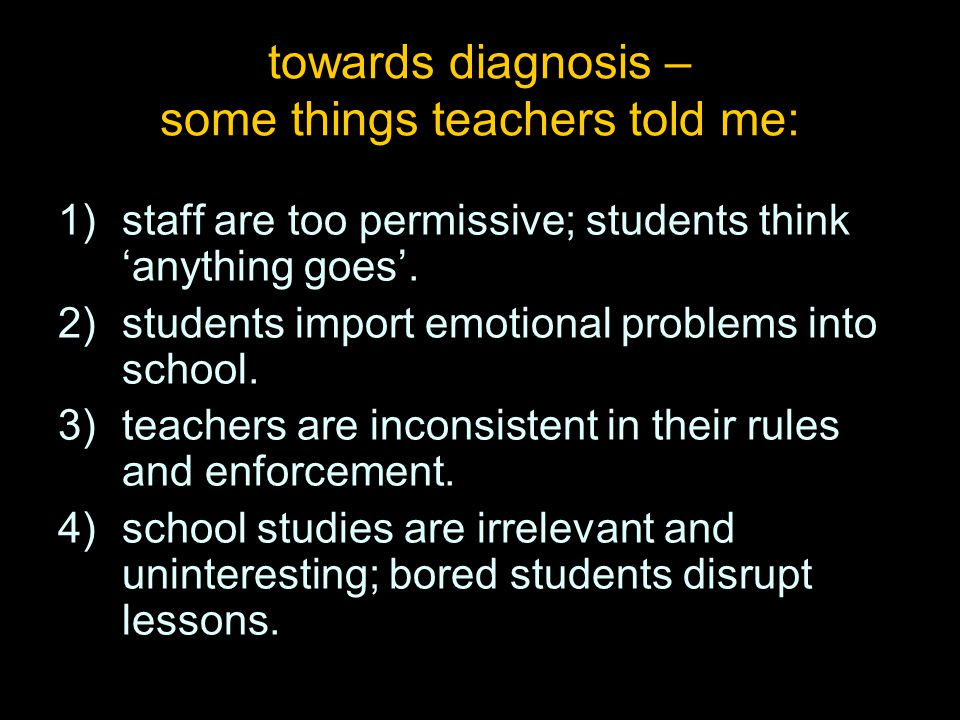 When students are 'off task', our first response should be to ask, 'what's the task?' Alfie Kohn