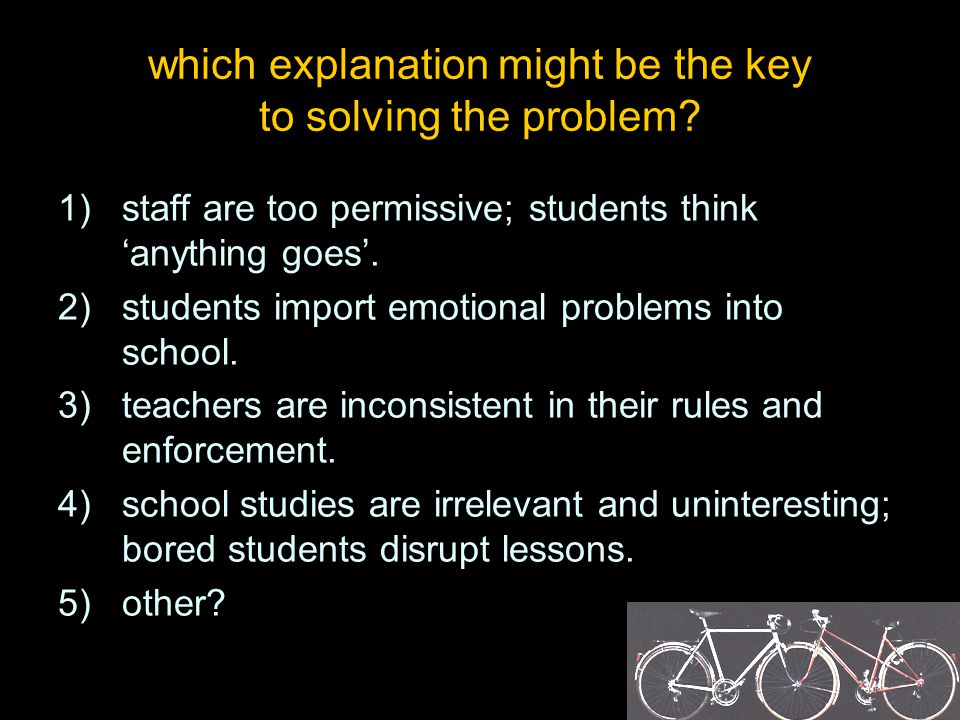 are proposed solutions compatible with learning and teaching in a community of thinking.
