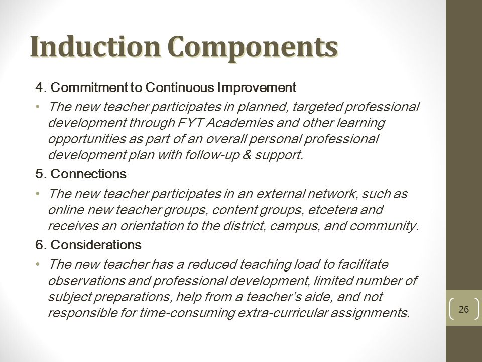 Induction Components 4.