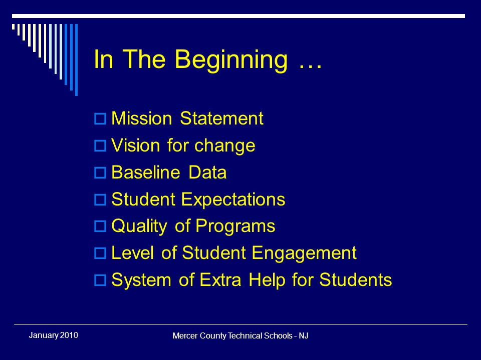 Mercer County Technical Schools - NJ January 2010 Questions Contact Information Kimberly J Schneider, Ed.