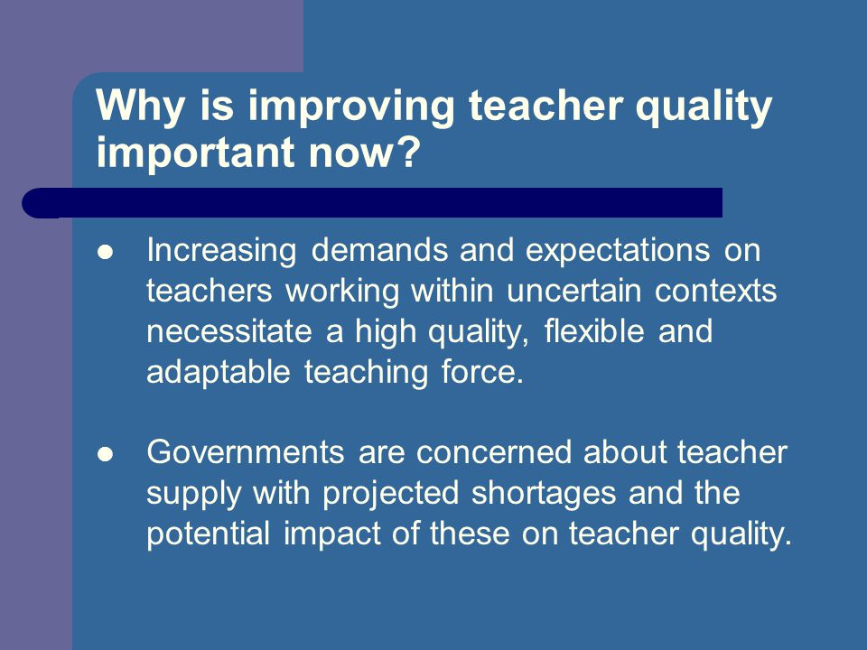 What is the role of a teacher in the knowledge economy.