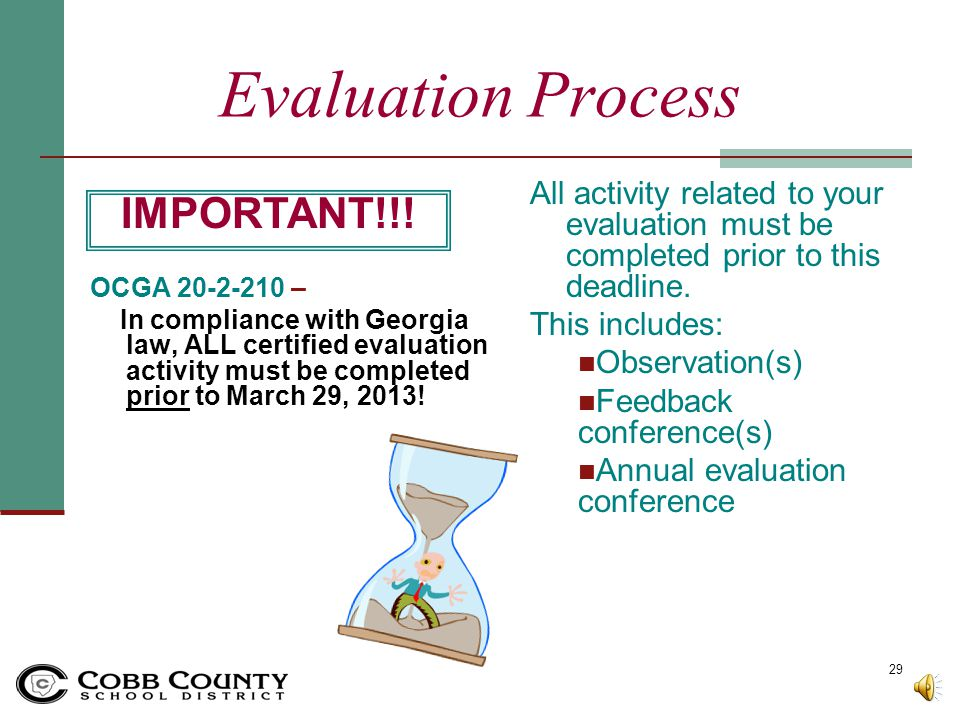 Evaluation Process 6. Appealing Annual Performance Report Ratings If you wish to specifically appeal any rating on your annual evaluation, you must co