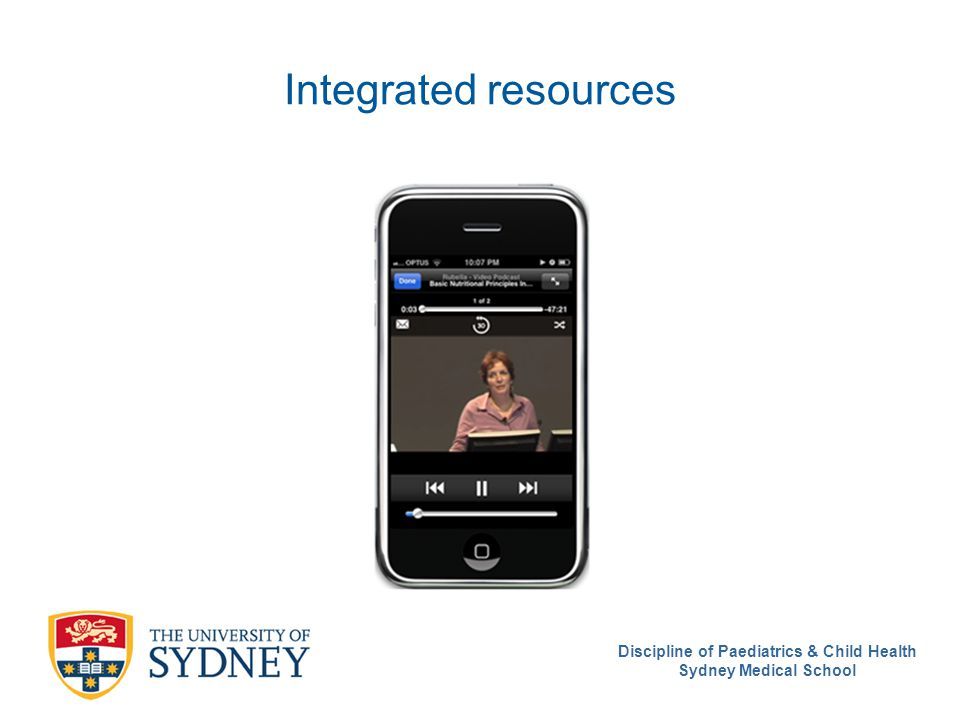 Integrated resources