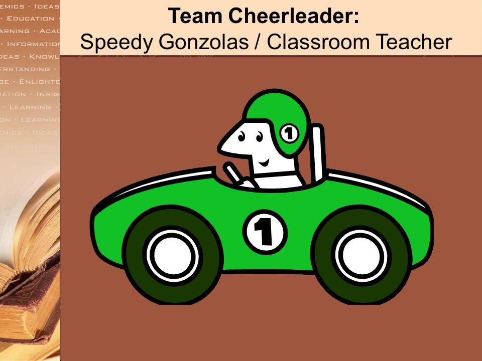 Team Cheerleader: Mary Elaine Muise/Guidance Counselor
