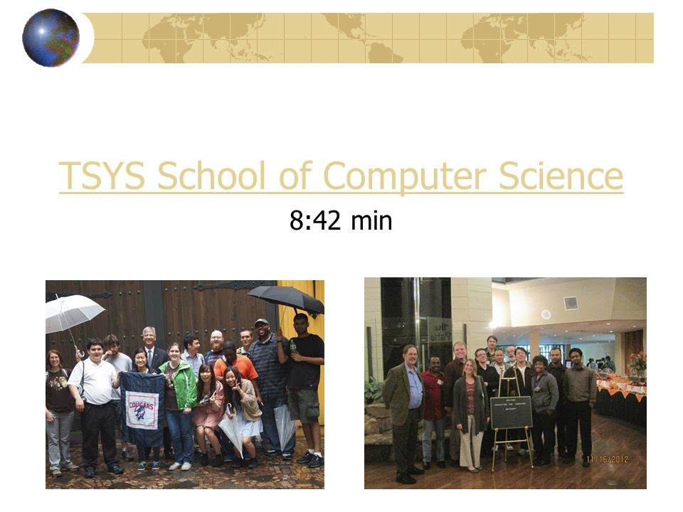 TSYS School of Computer Science 8:42 min