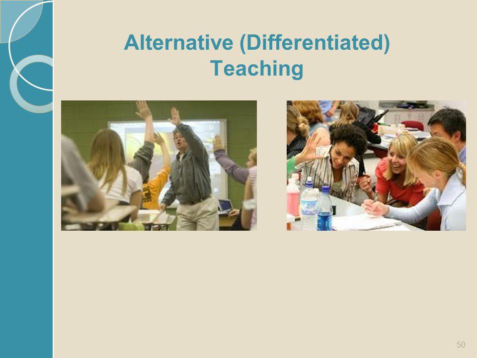 50 Alternative (Differentiated) Teaching