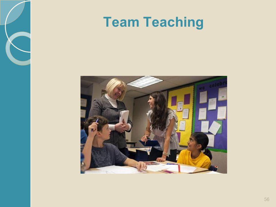 Team Teaching 56