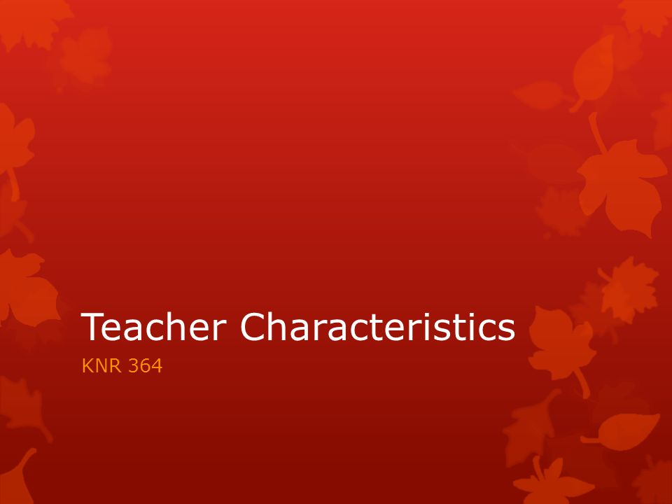 What does it mean to teach.