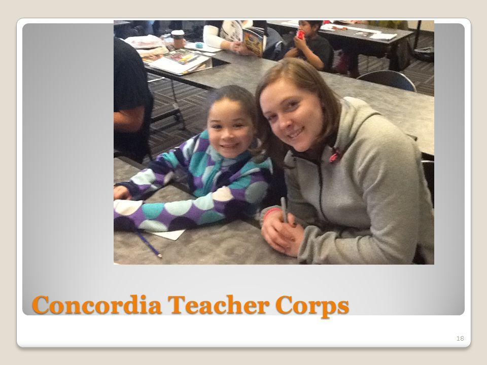 Concordia Teacher Corps 18