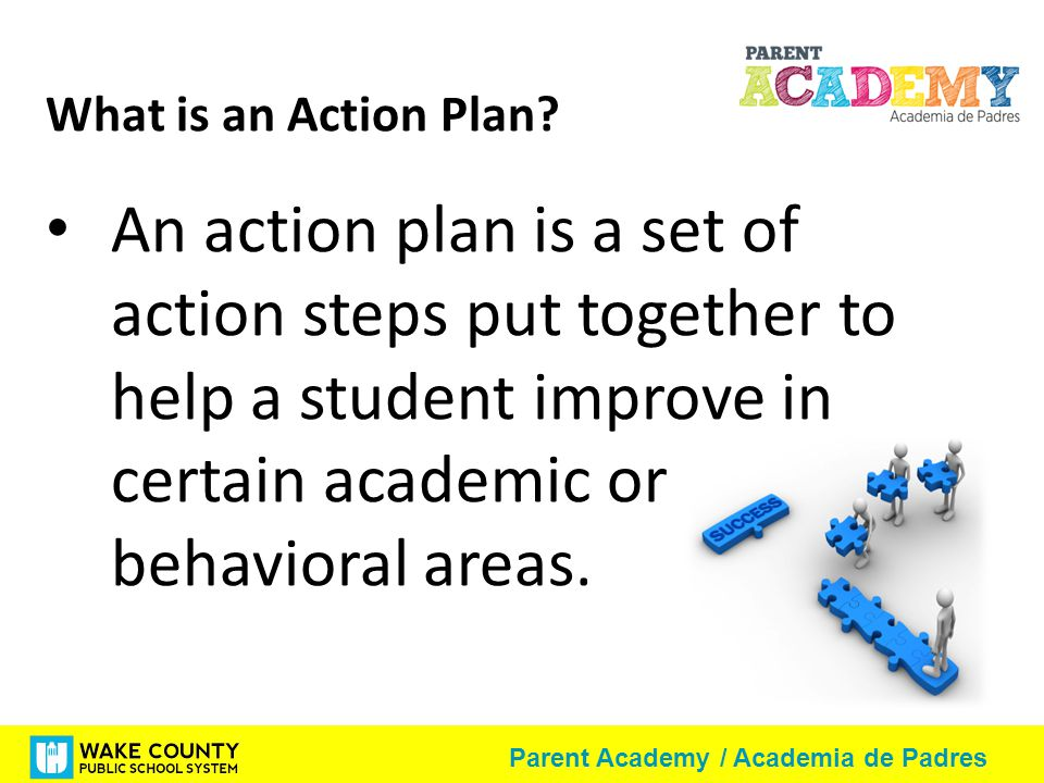What is an Action Plan.