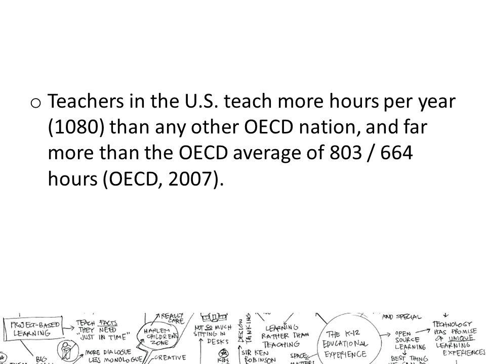o Teachers in the U.S.