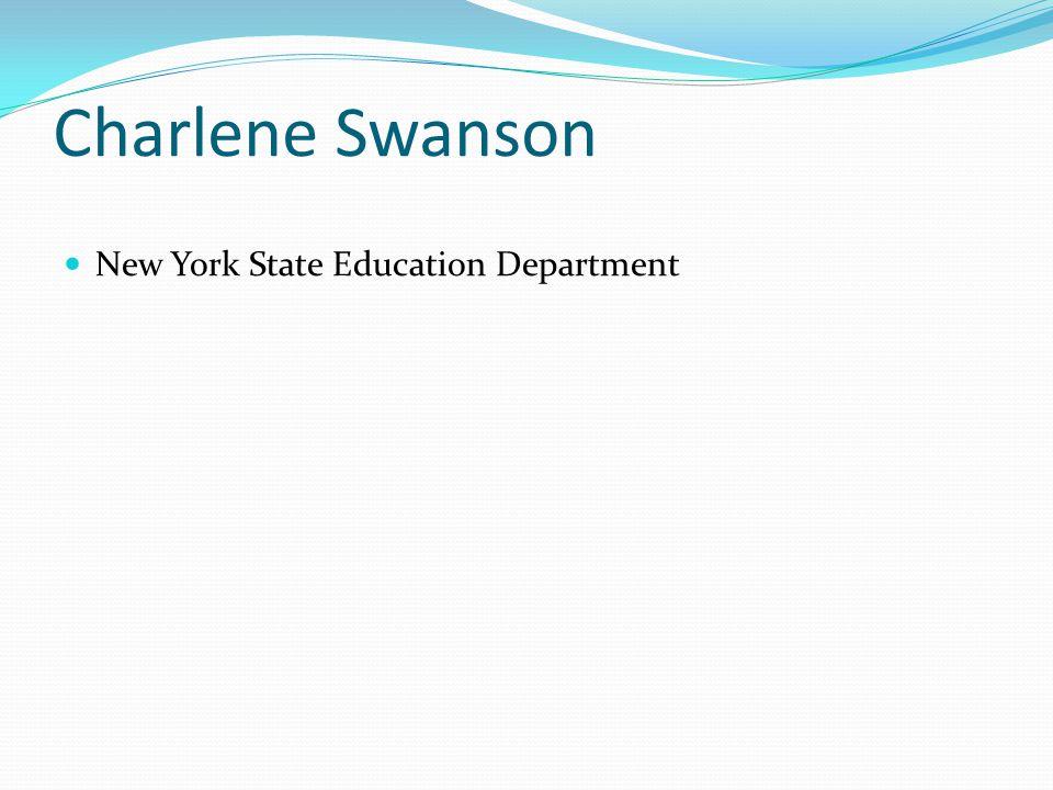 Charlene Swanson New York State Education Department