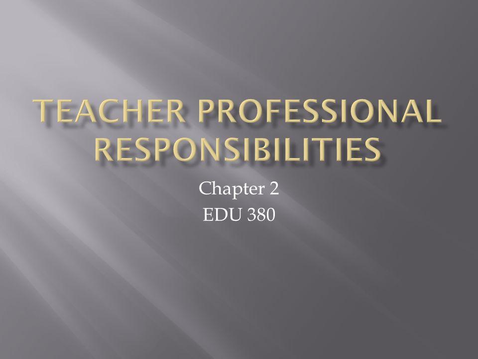 Chapter 2 EDU 380