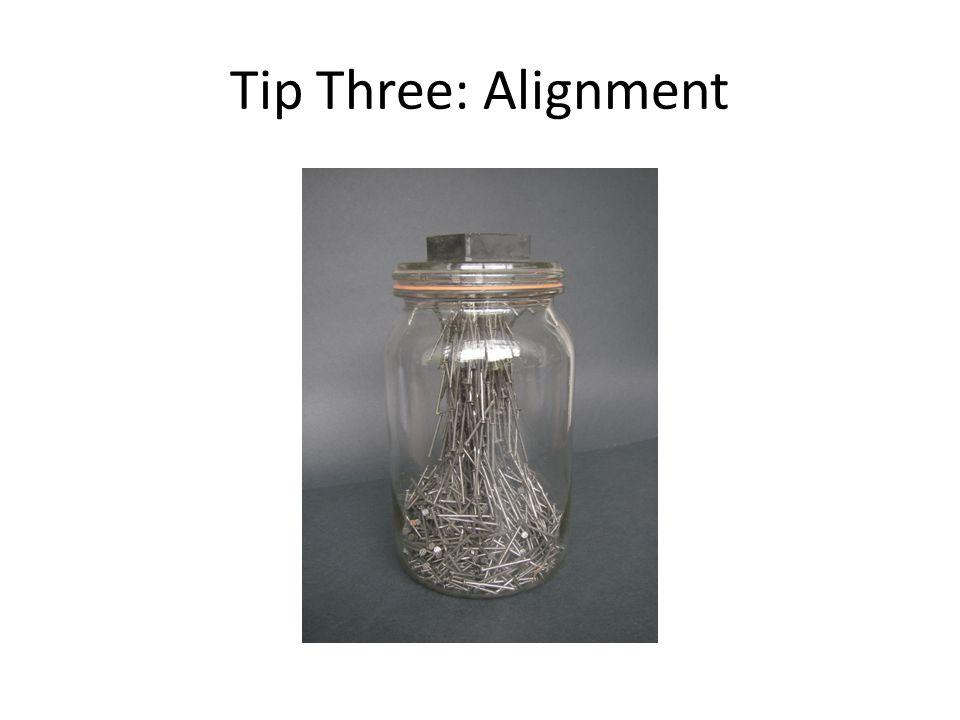 Tip Four: Practice Aglet
