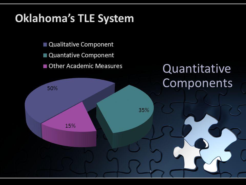 Quantitative Components Oklahoma's TLE System