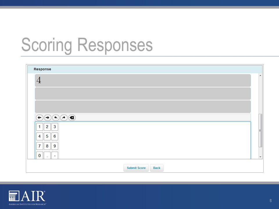 Scoring Responses 8