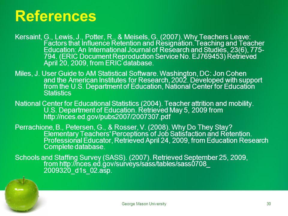 References Kersaint, G., Lewis, J., Potter, R., & Meisels, G.