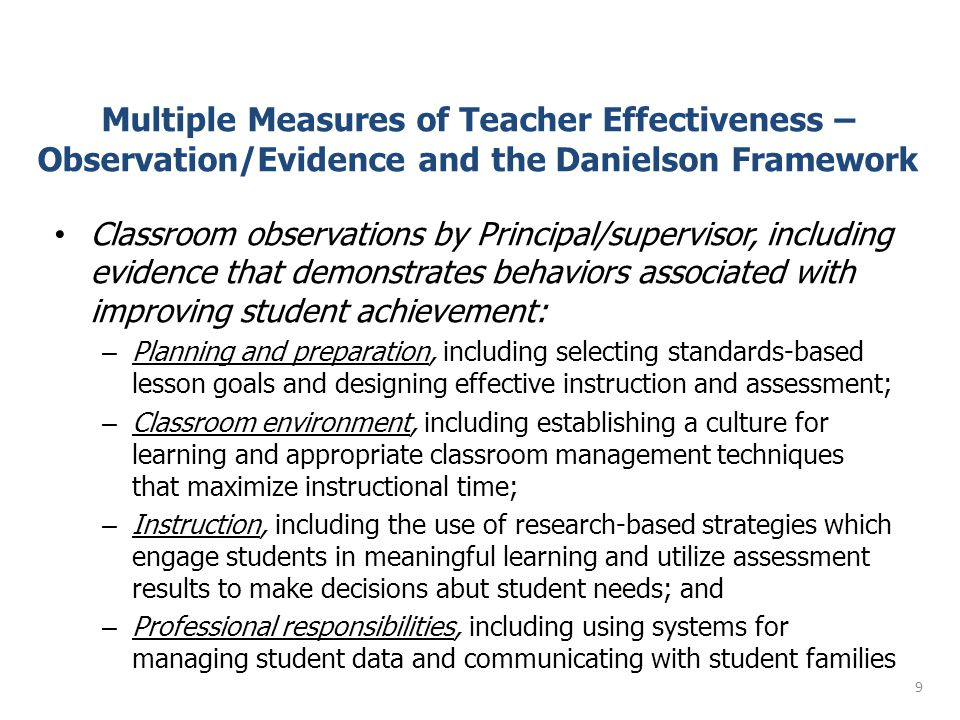 What is PA planning to do ? Student Learning Objectives with Model Assessments