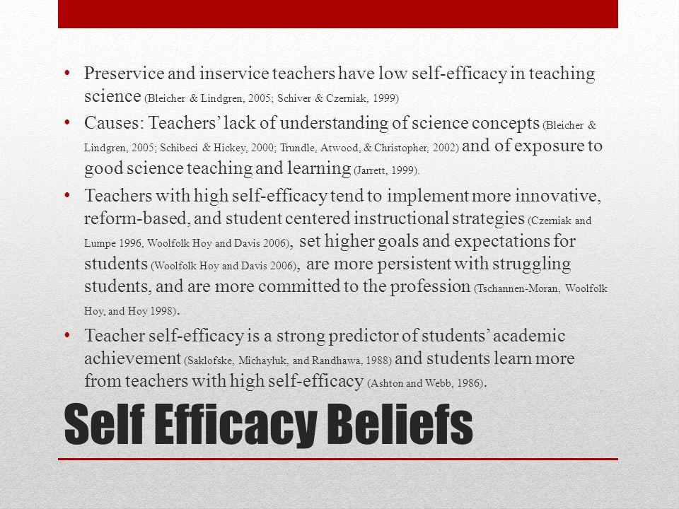 Theoretical Framework Sources of Self-Efficacy: 1.