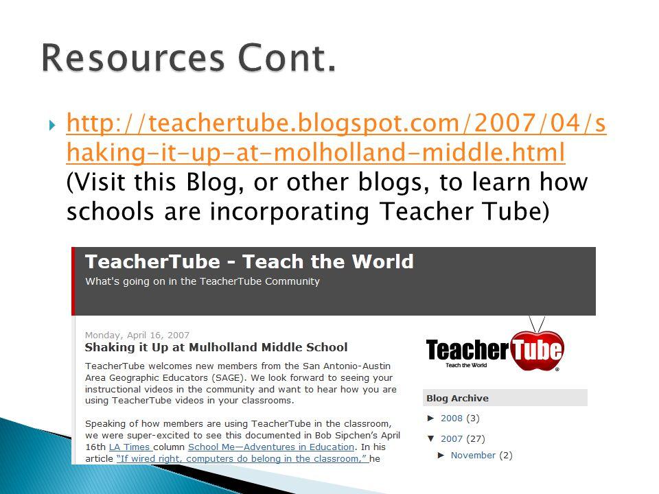  http://www.teachertube.com/staticPage.php.