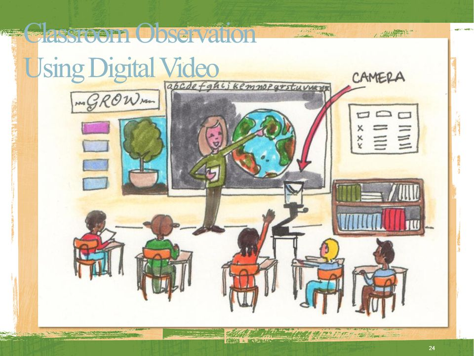Classroom Observation Using Digital Video 24