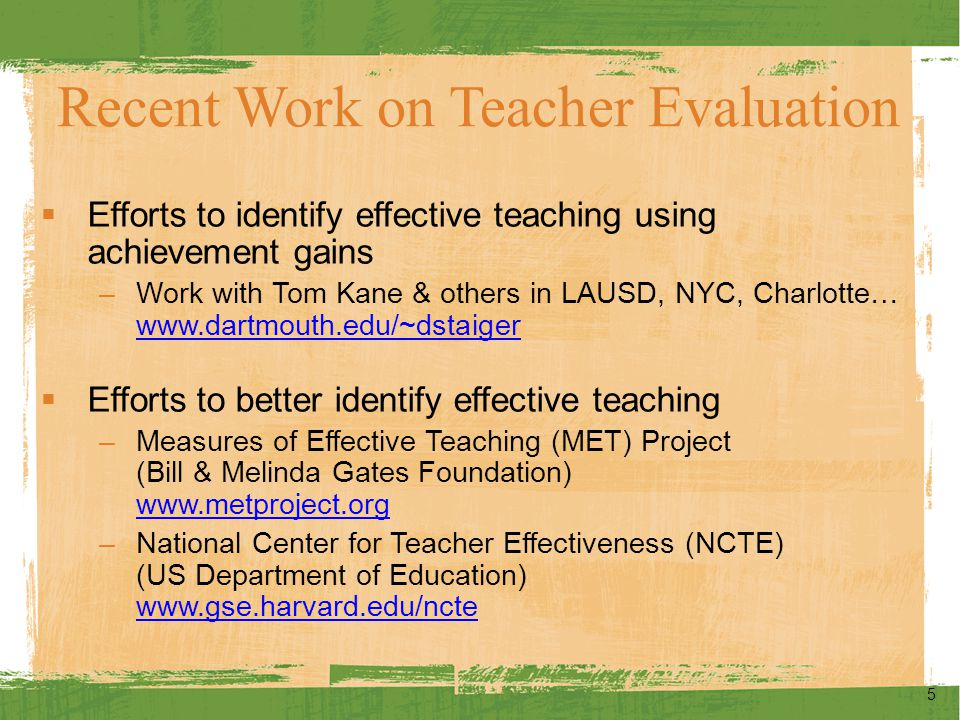 56 Improving Teaching What are Districts Doing?