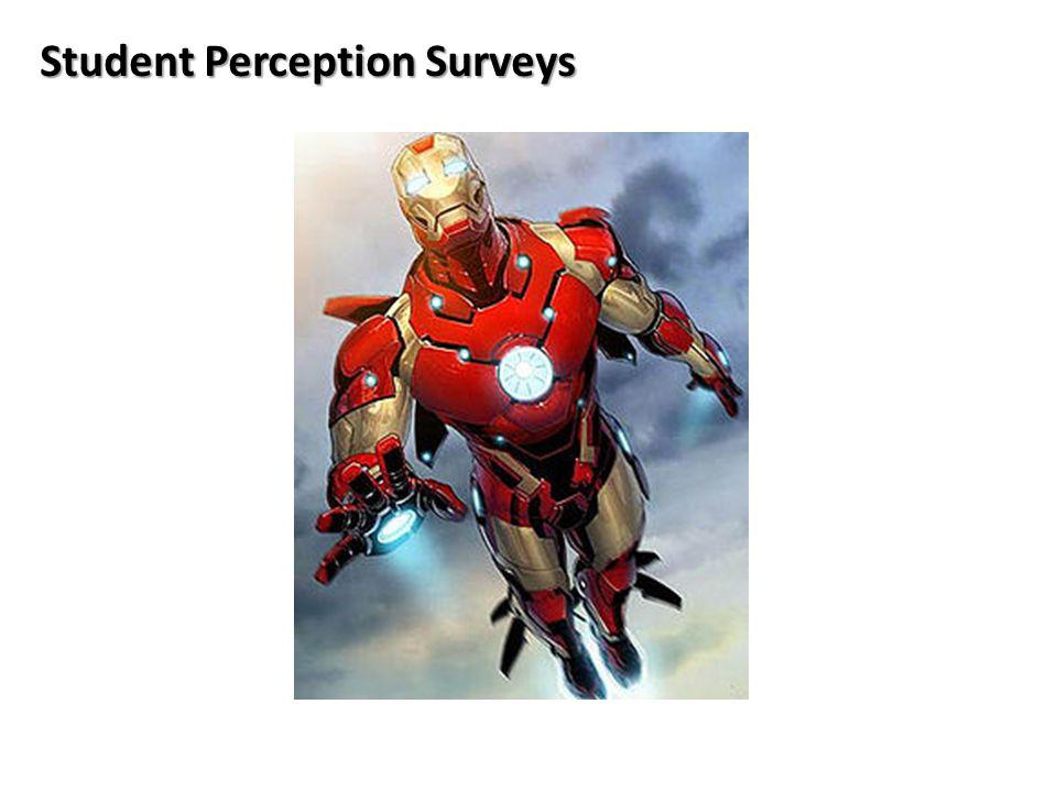 10 Student Perception Surveys