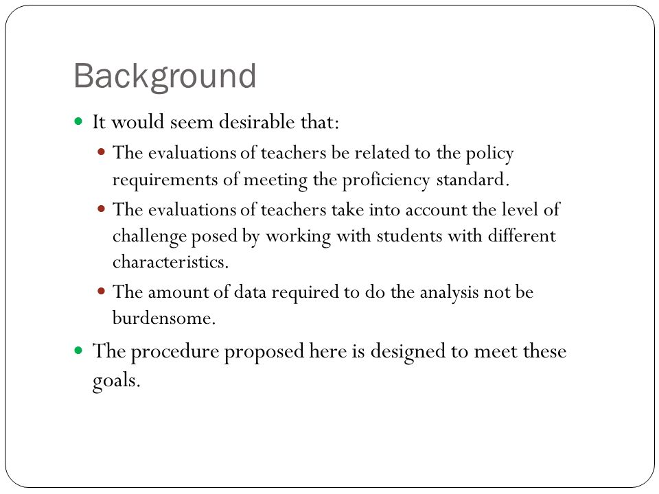 The Educator Response Function The educator response function is a mathematical model that relates the capabilities of teachers and the level of challenge of students to the probability that the combination of teacher and student will reach the Proficient level specified by the state department of education.