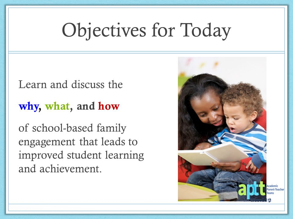 Why School-Based Family Engagement?