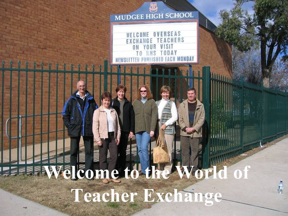 What Is a Teacher Exchange.