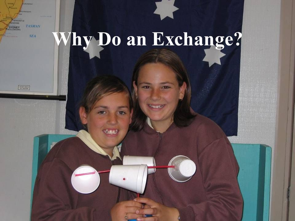 Why Do an Exchange