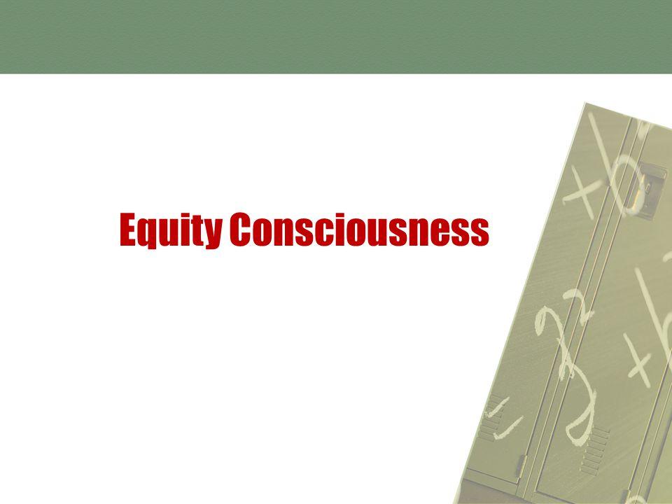 Equity Consciousness