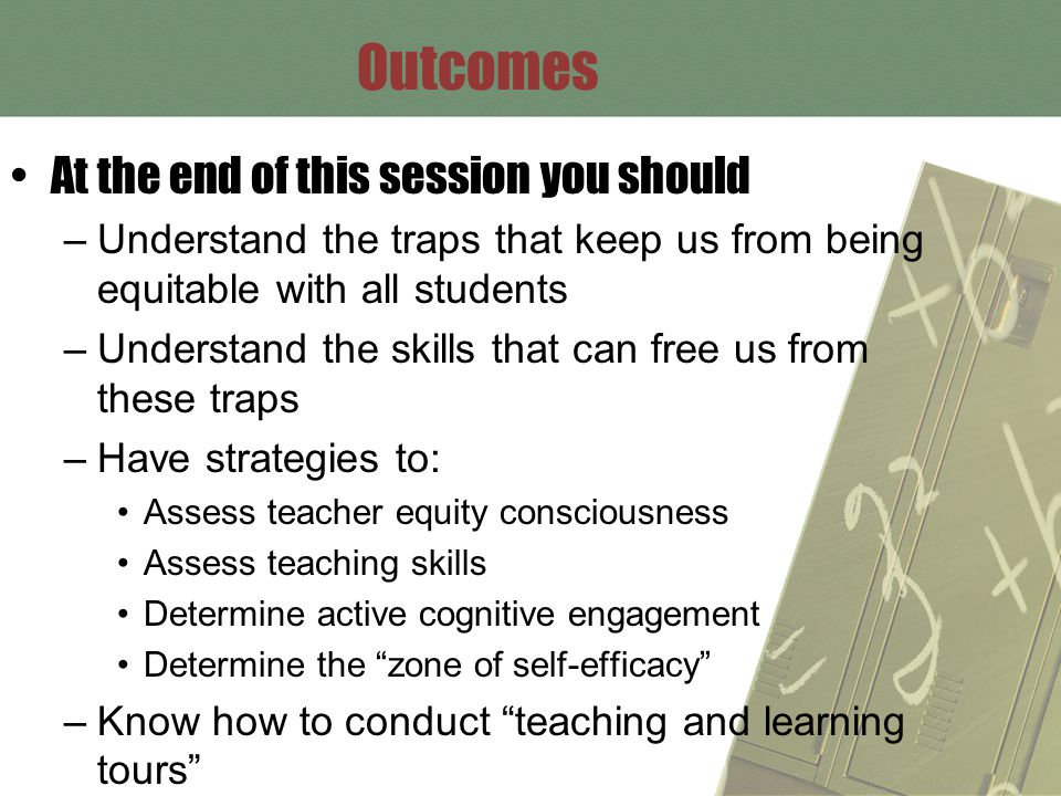 Example of Strategies to Increase Active Cognitive Engagement Teacher guided small groups instead of teacher moving from individual student to individual student Use of white boards for student responses Use of timer to move students through transitions and guide individual, small group, and whole class responses Assign cooperative jobs for small groups Use instruction cards for centers Utilize co-teachers for guiding groups Individual student response cards (for example A, B, C, D or yes/no or agree/disagree) Use butcher paper in corners of room and have students respond on the paper Use butcher paper on the floor and have students respond on the paper Use sponge activities when waiting on restroom etc to maximize learning time Games that require individual response, then small group, then whole class Wait time Think, Pair, Share Flexible grouping by student need Preteach Use of timer or watch for teacher to check ACE and Zone Keep it calm, neat and organized Use of manipulative and graphic organizers