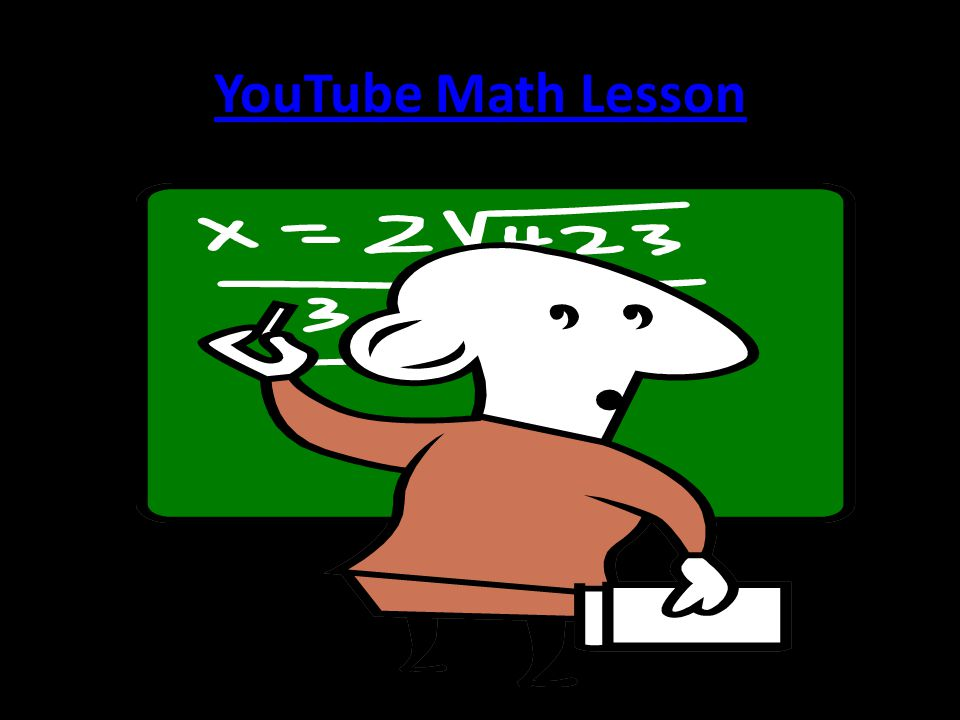 YouTube Math Lesson