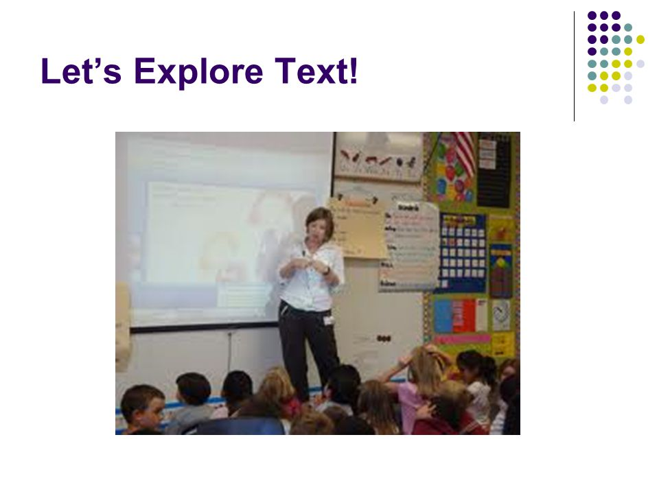 Let's Explore Text!
