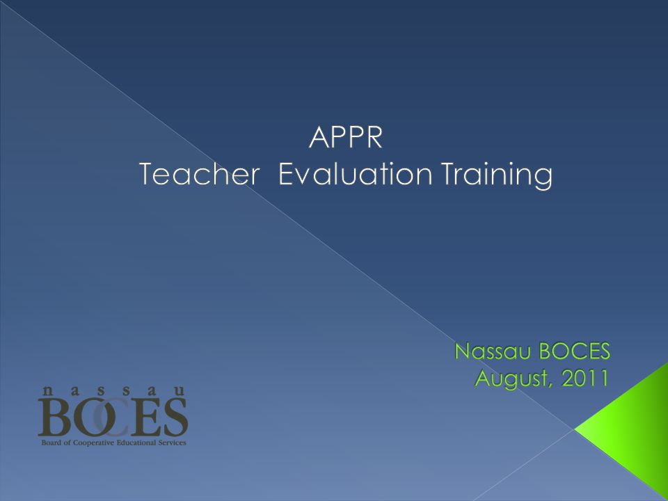  What's wrong with teacher evaluation.
