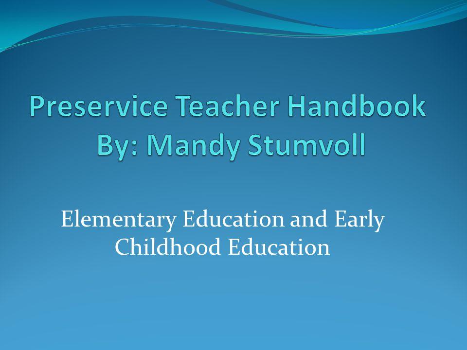 -To better prepare the preservice teachers of tomorrow.