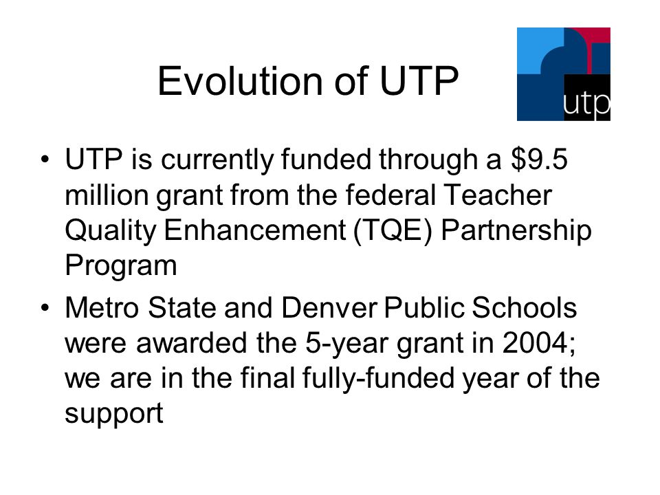 -From Project to System- Center for Urban Education Mission Statement CUE believes that through genuine partnership, higher education, urban schools and local communities together can build a coherent system that will address multiple and complex needs of urban school students