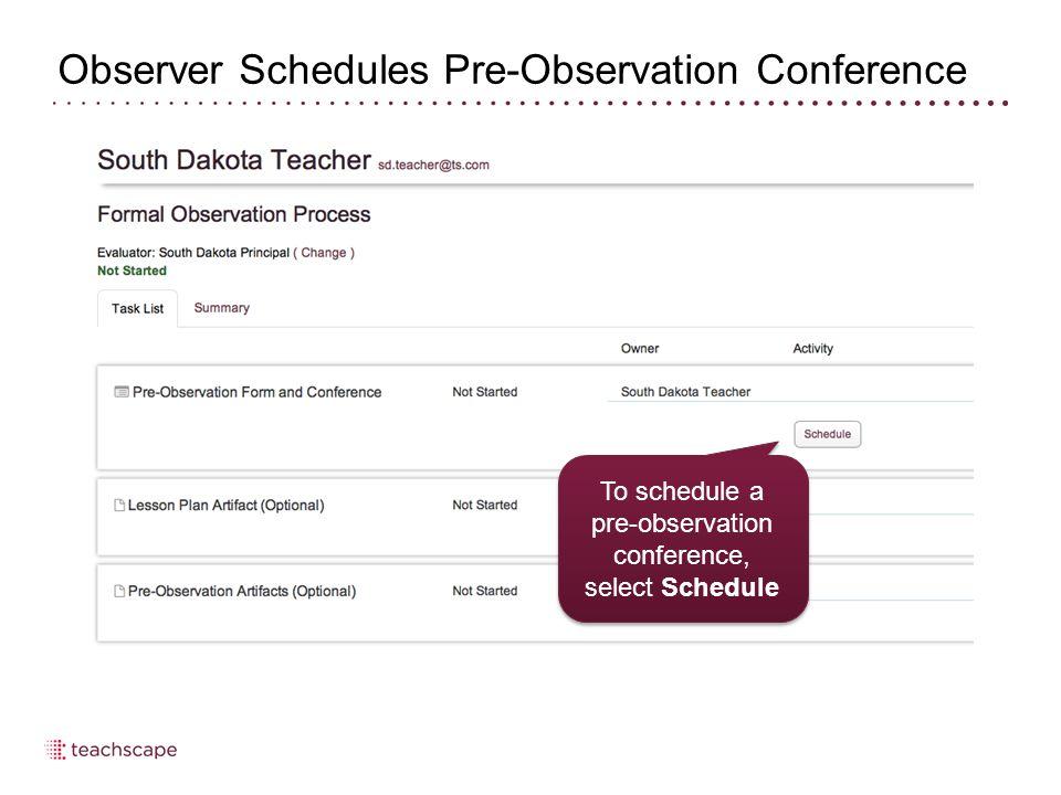 Evaluator Override – Teacher Self-Review 32 To override teacher self- review, select Review