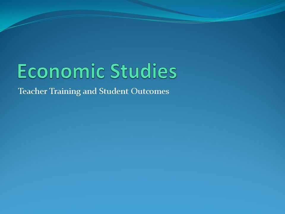 Teacher Training and Student Outcomes