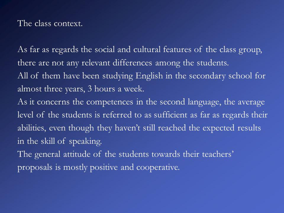 The class context.