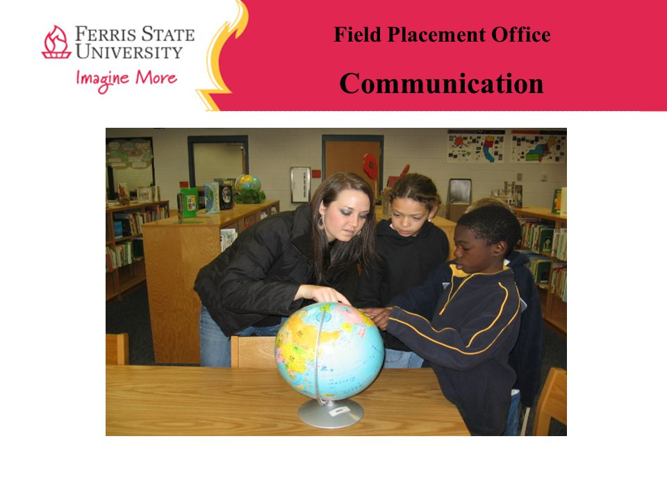Field Placement Office Communication