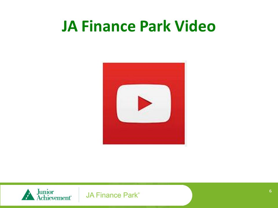 JA Finance Park Video 6