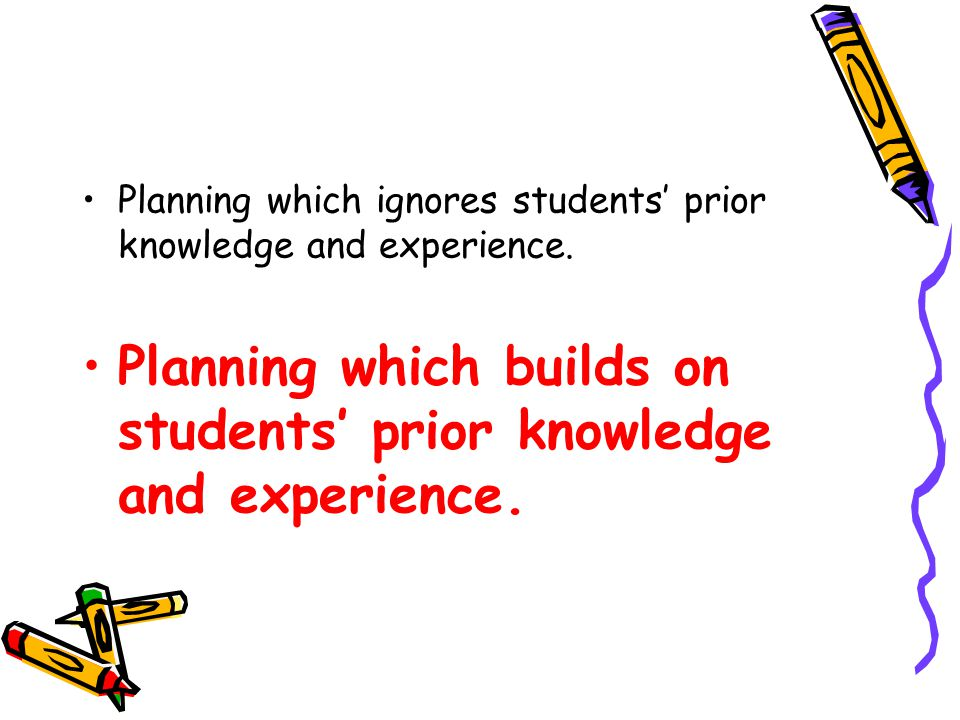 Viewing planning, teaching and assessing as isolated processes.