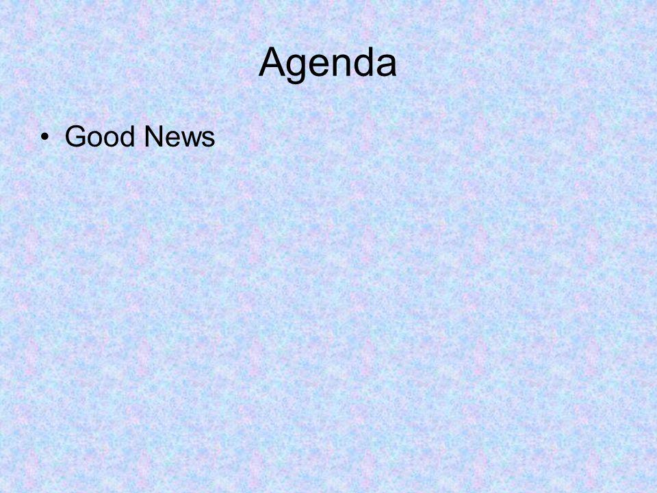 Agenda Good News